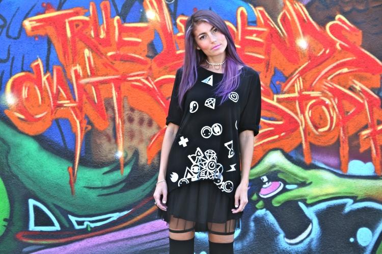 Jilli Joffe Melrose Street Style