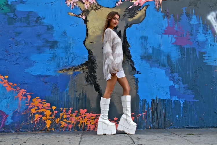 Fashion Trend, A-Line Mini, Flatform Boots, Fashion Blog