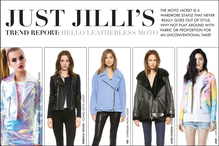 Fall 2014 Jacket Trends, Modern Moto Jackets, Fall 2014 Fashion Trends