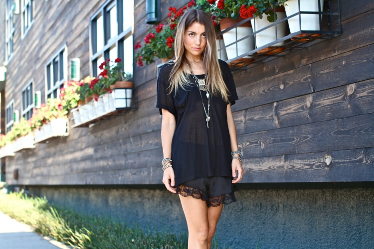 Just Jilli, Urban Outfitters Slip Short, Lingerie Trend, Women's Fall 2014 Fashion Trends