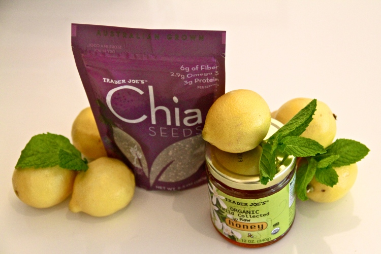 Healthy alternative to coffee, Chia Drink, Mint Lemonade,