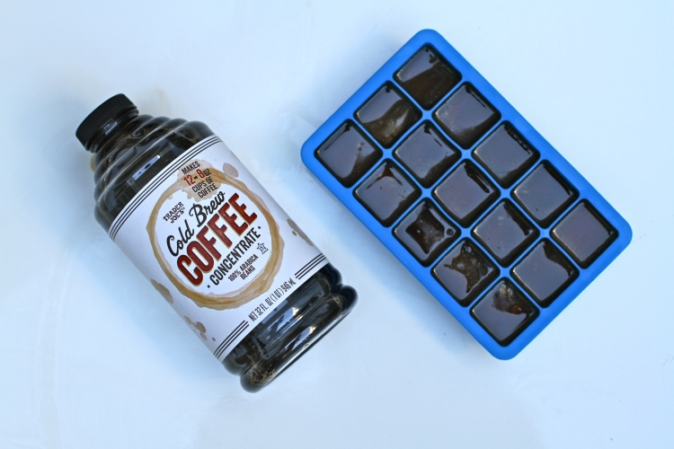 Easy Recipe, Video Recipe, Coffee Ice cube recipe, Trader Joe's Cold Brewed Coffee