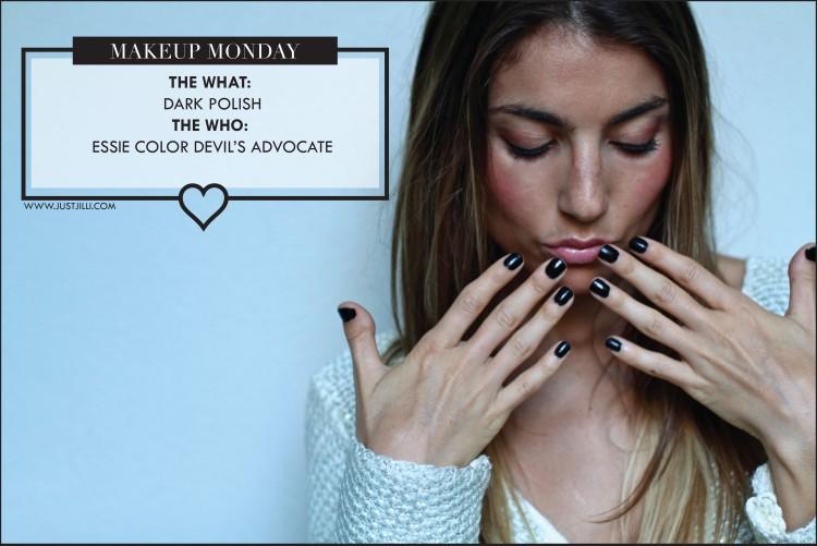 DIY Manicure tips and tricks, Essie Devil's Advocate