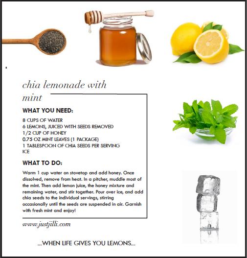Healthy Drink recipe, Healthy Alternative to coffee, chia drink recipe