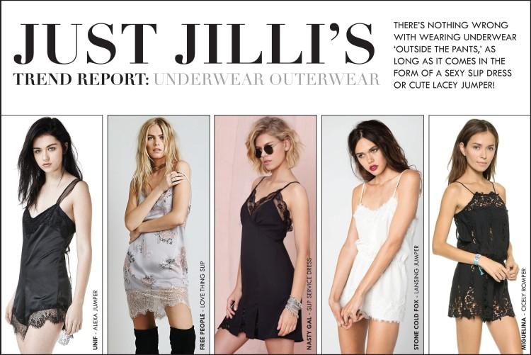 Fashion Trends, Fall 2014 Women's Fashion, Slip Dress Fashion, lingerie dressing