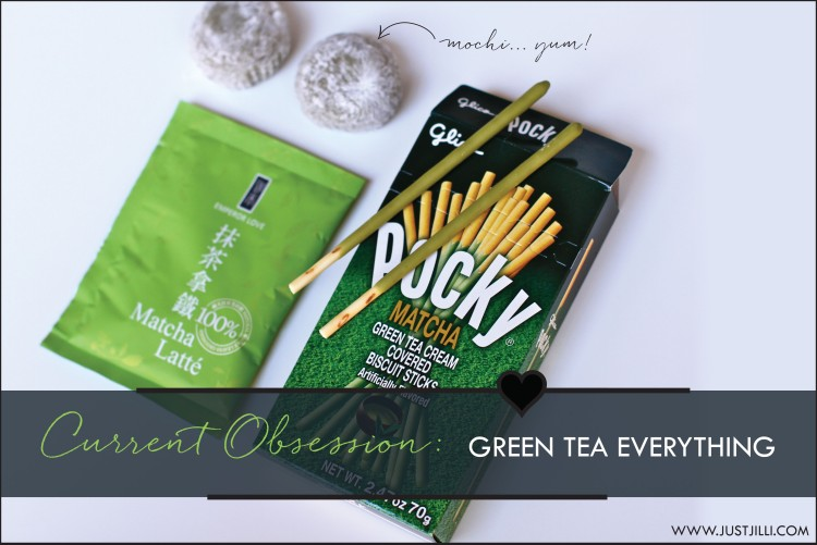 Matcha Green Tea Pocky, Green Tea Latte Mix, Matcha  Green Tea Mochi